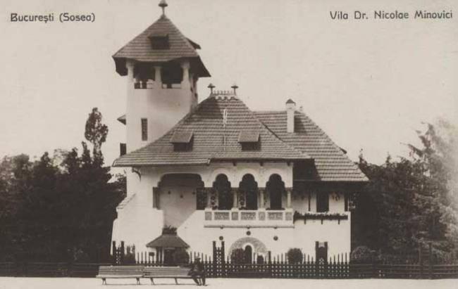 Nicolae Minovici's Villa Bucharest