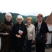 "The ""danubas Divas' at Bran Castle"