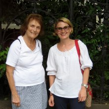 Mary Ann visited Bucharest, with her husband, for the second time